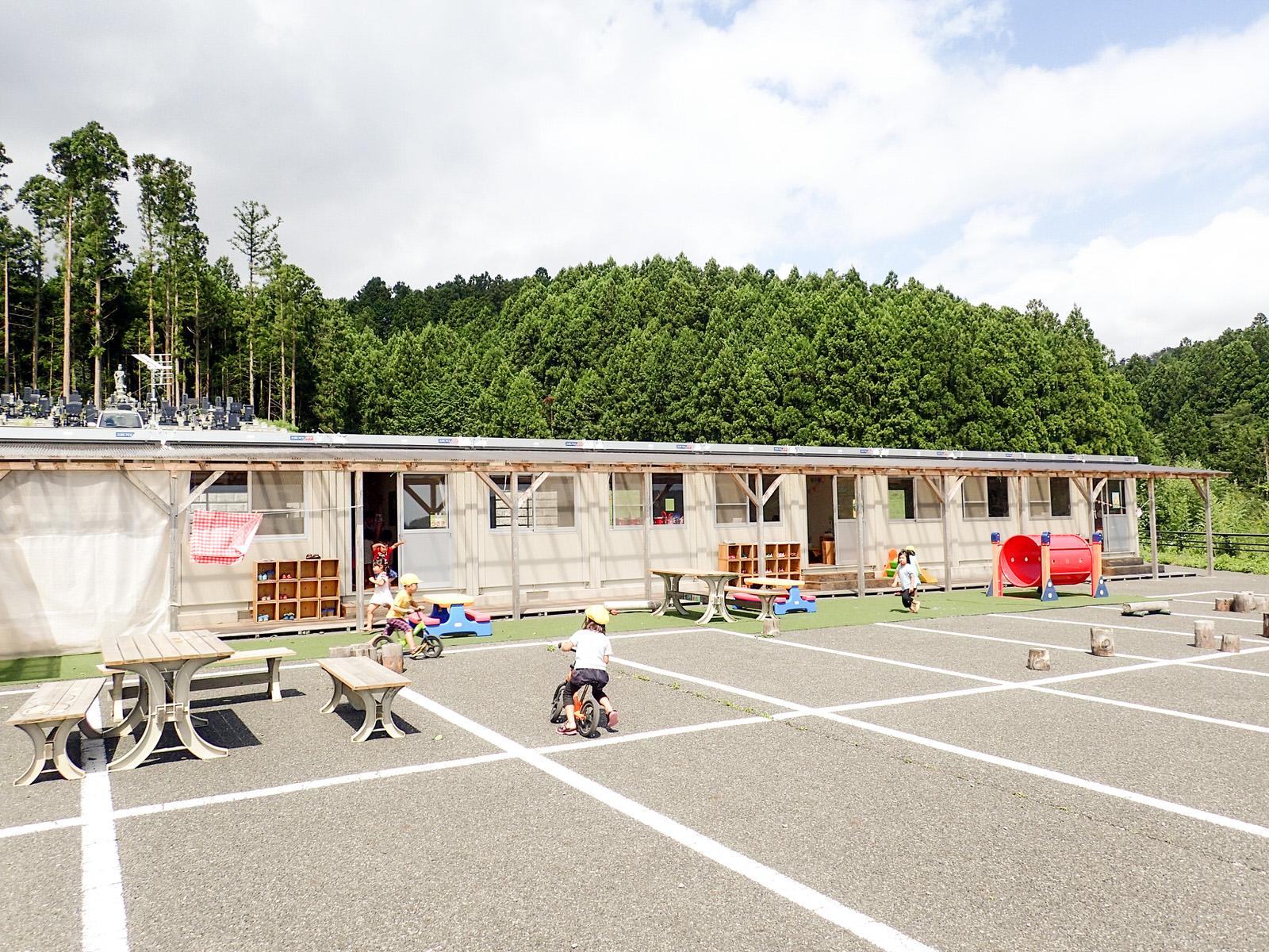 あさひ幼稚園 本設園舎を心待ちに町内唯一の私立幼稚園