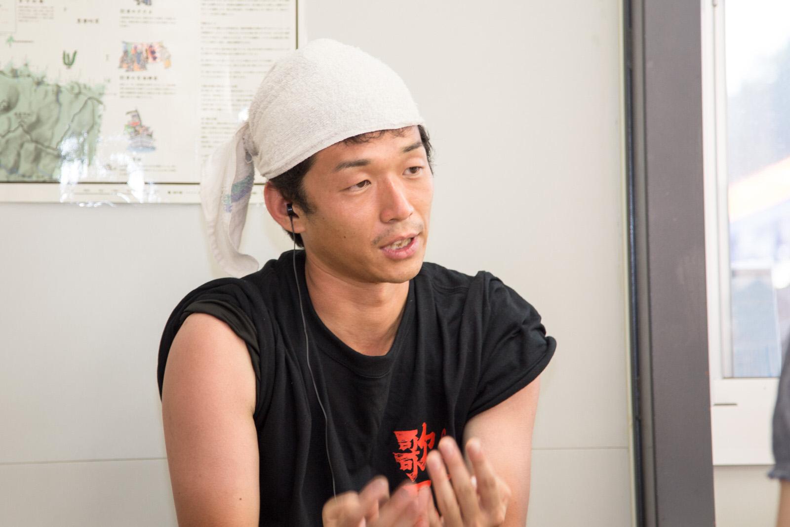 仙台市出身で、震災後に南三陸に移住した宮本さん
