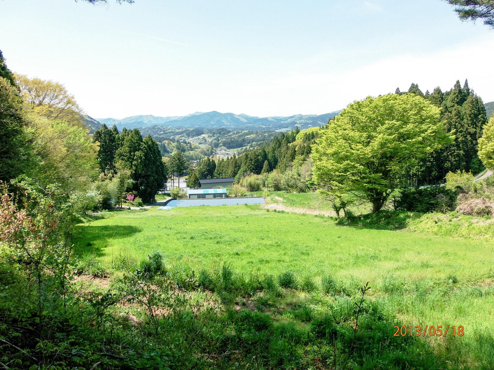 入谷地区の里山風景