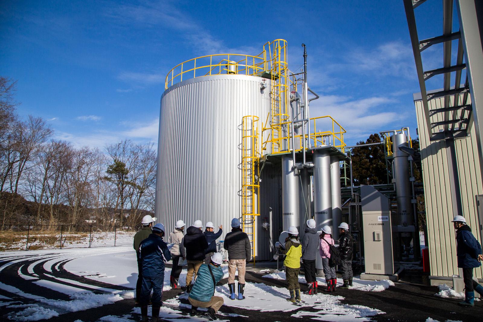 液肥を作っている南三陸BIO
