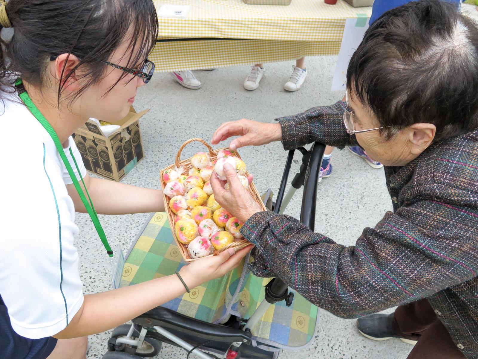 兵庫県立西脇高校のボランティア