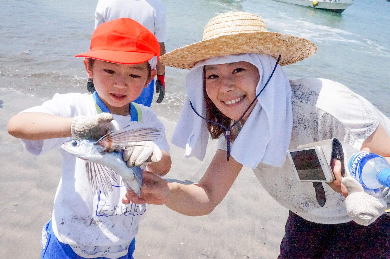 歌津地区の長須賀海岸「ふるさとの海に親しむ会」開催レポート