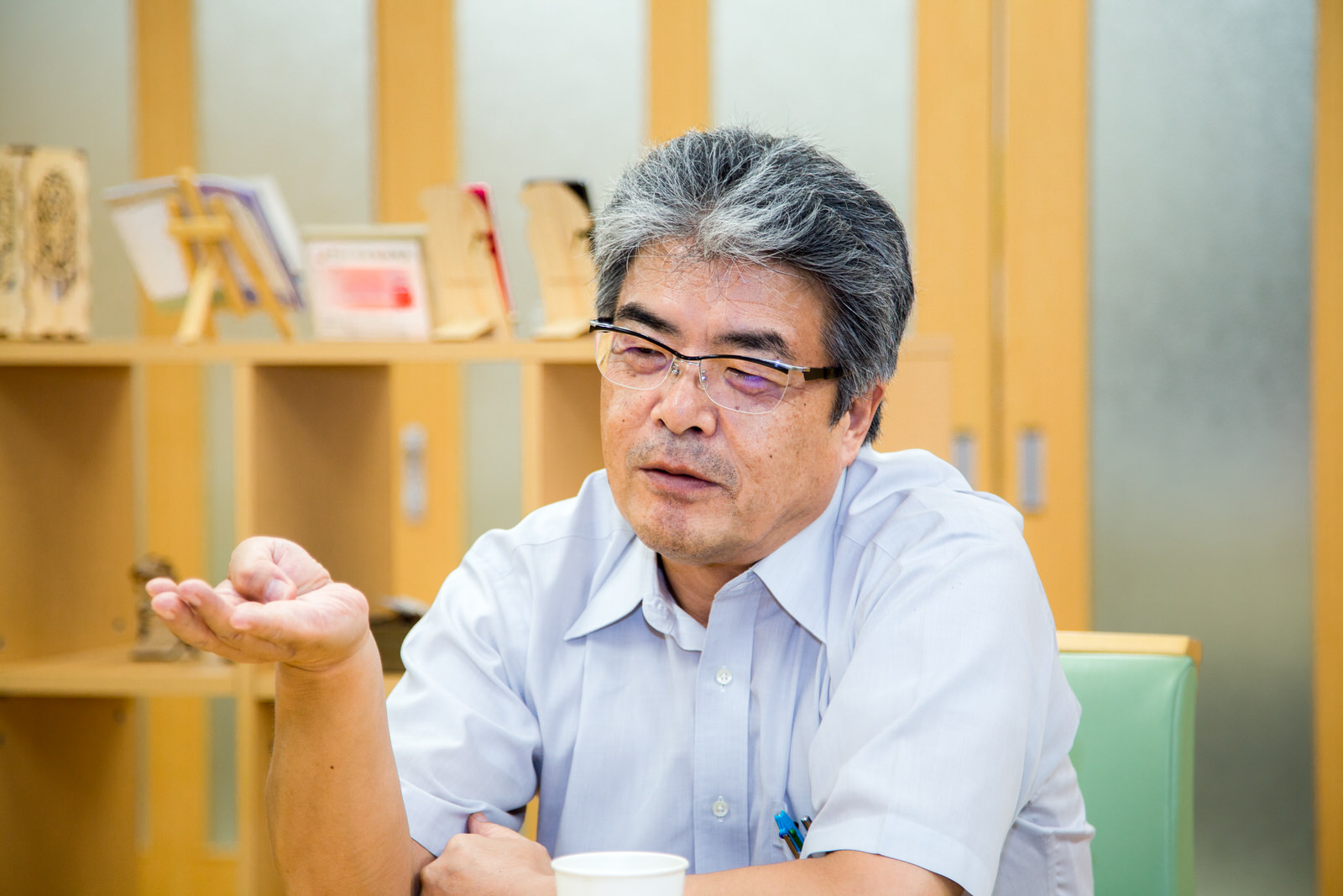 地域の想いを伝え、人を育てる土壌 / 志津川高校山内松吾校長